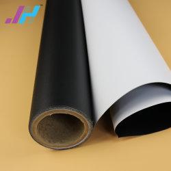 Frontlit PVC satinado blanco Premium Flex Banner para la Promoción Comercial