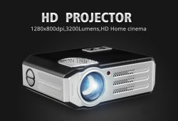 Yi-817 LED projecteur Full HD 1080p 3200 Lumens projecteur HDMI Projetor S Smart WiFi USB Hi-fi Home Cinéma TV Beamer