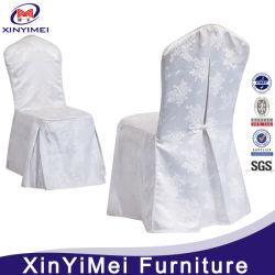 Abdeckung für weißen Polyester-Stuhl im Hochzeitsrestaurant (XYM-BC56)