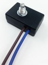 وحدة التحكم في درجة الحرارة للتحكم في السرعة 300 واط مفتاح التعتيم الدوار لمتطع المصابيح عمود واحد