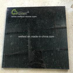 Black Diamond polido chinês para pisos de mosaico de granito fachada-e