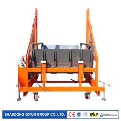 선적과 트럭 콘테이너를 내리기를 위한 이동할 수 있는 드는 플래트홈