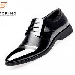 La Chine Les fournisseurs d'hommes respirante Chaussures en cuir synthétique de PU