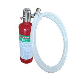FM200 FK-5-1-12 Fe-36 Tube o tubo de tipo automático Extintores de incendios para los vehículos o los armarios eléctricos