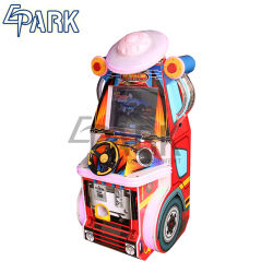 De grappige Machine van het Spel van de Auto van de Simulator van de Raceauto van de Misvorming van de Arcade Schommelende