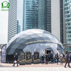 Dôme géodésique de luxe tente pour la publicité et les activités d'exposition