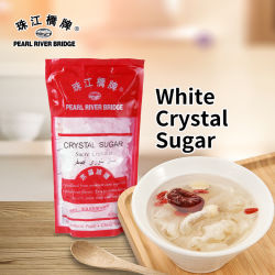 Açúcar Cristal Branco 400g Pearl River Bridge Açúcar refinado de alta qualidade