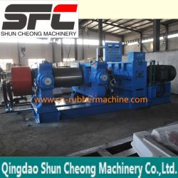 기계, 고무 정제 선반을 재생하는 폐기물 타이어
