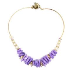 Form-Zubehör Wholesale neue Entwurfs-hängende Acrylschmucksache-kundenspezifische Geschenk-Namen-Halsketten-Brauthochzeits-Diamant-Silber-GoldEdelstahl-Kristall-Perle