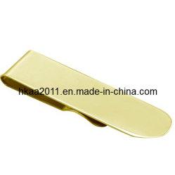 L'usinage personnalisé en laiton plaqué or de l'argent le clip à ressort