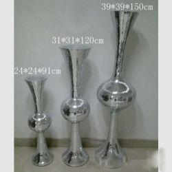 POT del vaso di fiore del Flowerpot della vetroresina grandi della resina della pianta della vetroresina di plastica poligonale dei POT