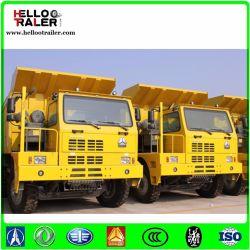 HOWO 375 6X4 70tonne l'exploitation minière pour la vente de benne basculante de camion à benne