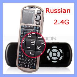 Touchpad Support 2.4G Bluetooth Keyboard (KN-102)를 가진 소형 Slim Keyboard