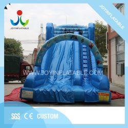 9x4.5m videur de plein air gonflable géant Kids diapositive pour une utilisation commerciale
