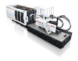 780 la tonelada de ahorro de energía de alta eficiencia de la máquina de moldeo por inyección (AL-UJ/780C)