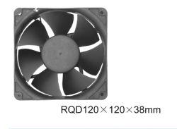 Lage Lawaaierige Kleine Zwarte AC van de Grootte KoelVentilator (120X120X38mm)