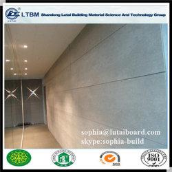 La pared exterior de material de acabado de la junta de fibra de cemento
