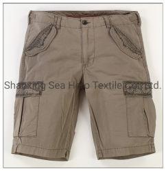 Tinta Cotton Check Cargo corto