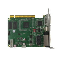 Éclairage par LED clignotant Linsn TS802 du contrôleur de carte d'envoi avec le logiciel