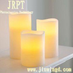 2014本の熱い販売LEDのワックスの美しく軽いFlameless蝋燭
