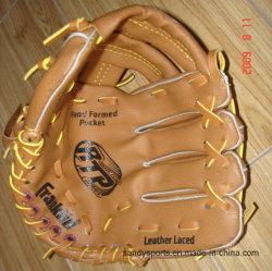 Promotion personnalisée Brown gant de baseball