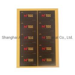 材料PVCに白いインクジェットをするカード印刷できるシート