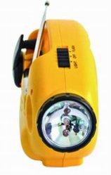 2015 Venta caliente Nuevo estilo de Radio y Linterna dinamo (HT-898)