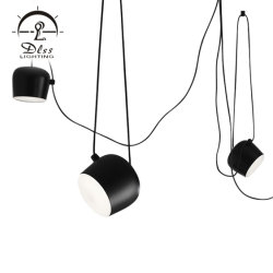 Design Moderne Metall Pendelleuchte LED Kronleuchter Beleuchtung