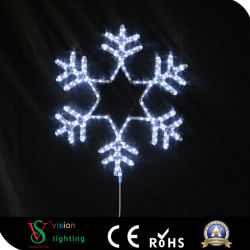 Haut de bonne qualité de lumière Motif flocon de neige de Noël