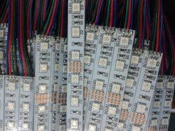 tira rígida los 0.5m/1m de 5050SMD RGB LED los 36W/M con CE&RoHS