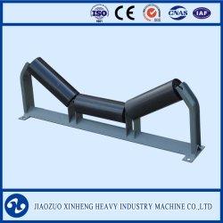 Cinta transportadora de acero pesado Industrial rodillo guía