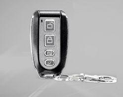 Controlo remoto do sistema de alarme chaveiro