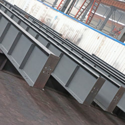 Estruturas de Aço Galvanizado Prefab Portal prefabricados com estrutura metálica da estrutura de Luz