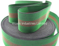 شريط شريط شبكة المقعد مطاطي شريط حزام مطاطي لأريكة يمكن تحويلها إلى كراسي فرش التنجيد