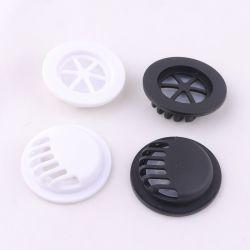 Soupape de respiration en usine personnalisée de la vente directe de couleur noire