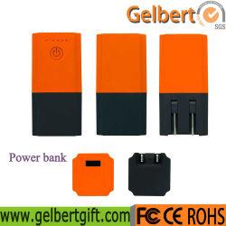 Vente chaude 2600mAh Plug-in externe de la Banque d'alimentation chargeur avec RoHS
