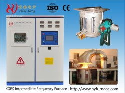 Hengyang Kgps forno di fusione ad induzione a media frequenza per colata di fonderia