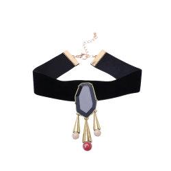 卸し売り上の設計女性の方法ネックレス宝石類の付属品 Retro の真珠のタッセルのチョークのネックレス