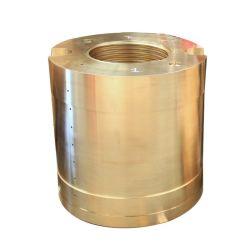 砂の遠心鋳造CNCは機械で造られたコンポーネントの製造業者の黄銅を回した