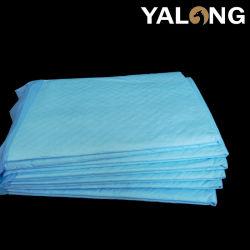 Amostra grátis sob as lâminas descartáveis de alta qualidade, absorventes higiênicos, incontinência pastilhas de cama para uso hospitalar