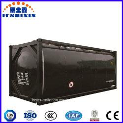20/40ft betume de transporte/Asfalto/Pitch contentor-cisterna de transporte de contentores do tanque de armazenamento de ISO