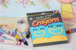 Рекламные самый дешевый 12 различных цветов карандашей для рисования и детям подарок для раскрашивания, нагретого до треугольника