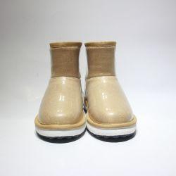 Comercio al por mayor moda invierno Australia Sheepkin chicas botas botas cortas Bling Bling