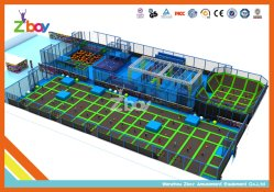 Zone du ciel Indoor Bounce Trampoline tapis de saut de Fitness Park