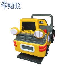 Auto van het Stuk speelgoed van het Spel van het Muntstuk van het Kind van de Auto van de Schommeling van de Machine van het Spel van de Simulator van de Techniek van jonge geitjes de Muntstuk In werking gestelde Commerciële