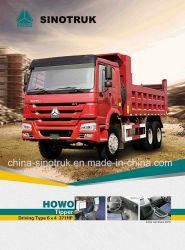 Beliebte Modell HOWO Dump Truck von Sinotruk Tipper 6 * 4