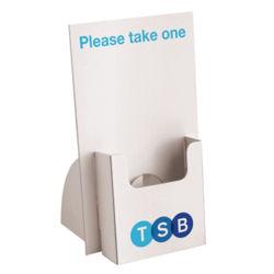 La promoción de cartón reciclable la plantilla de pantalla de la tarjeta de negocios
