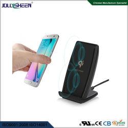 10W Chargeur sans fil rapide petit ventilateur intégré, haute efficacité Fonction Multi-Protections Heat-Radiation, CE, FCC RoHS