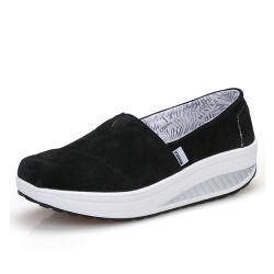 Greenshoe bunter Frauen-Beleg auf Schuh-Dame-beiläufige Schuh-Müßiggängern