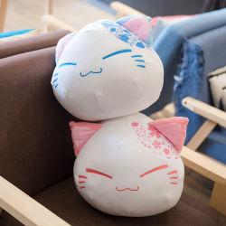 Прелестная Sakura Cat короткое замыкание мягкие подушки высокого качества игрушка подушки подушки подушки дивана дома оформление мягкой День Рождения Xmas подарков для детей